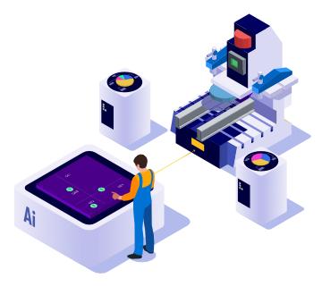 soluciones inteligencia artificial sector industrial analisis estadistico