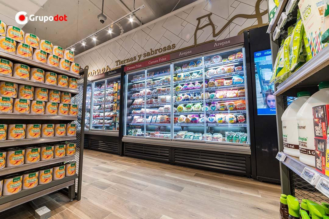 Carulla SmartMarket refrigeradores