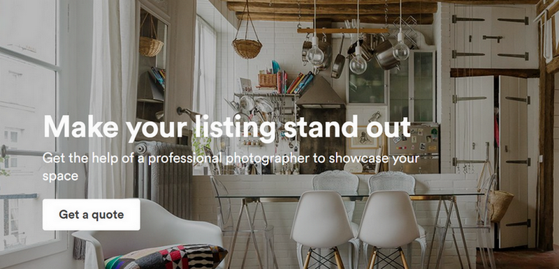 Airbnb uses certified photographer for accommodation verification
