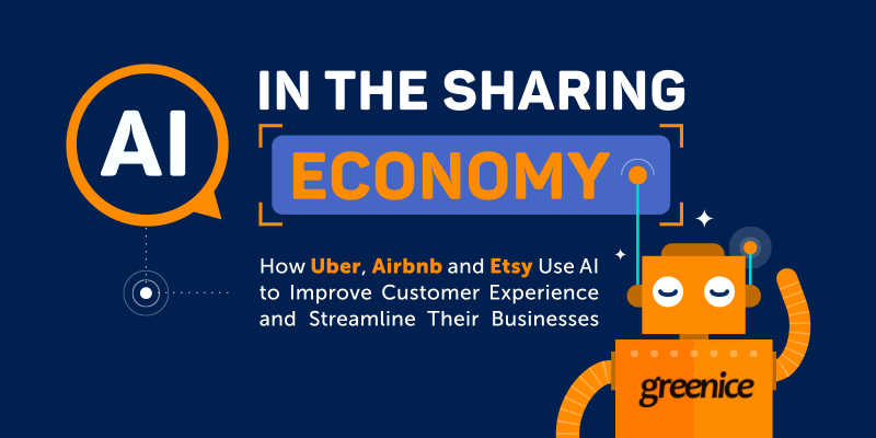 The Role of Artificial Intelligence in Business, and Why Uber, Airbnb, and Etsy Can't Survive Without It [Infographic]