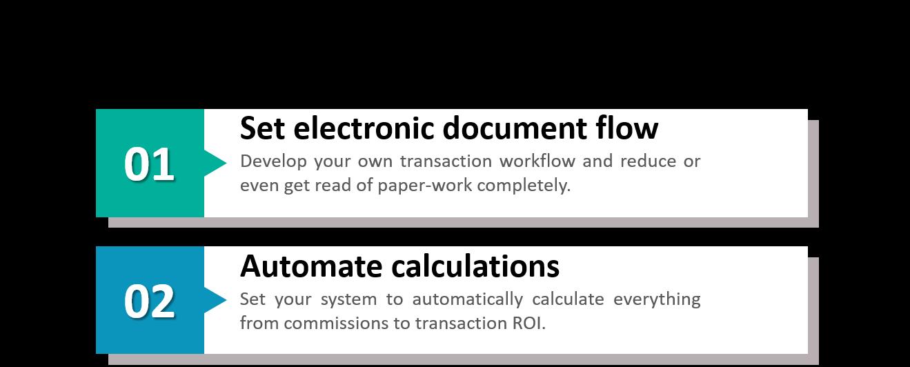 Transaction management