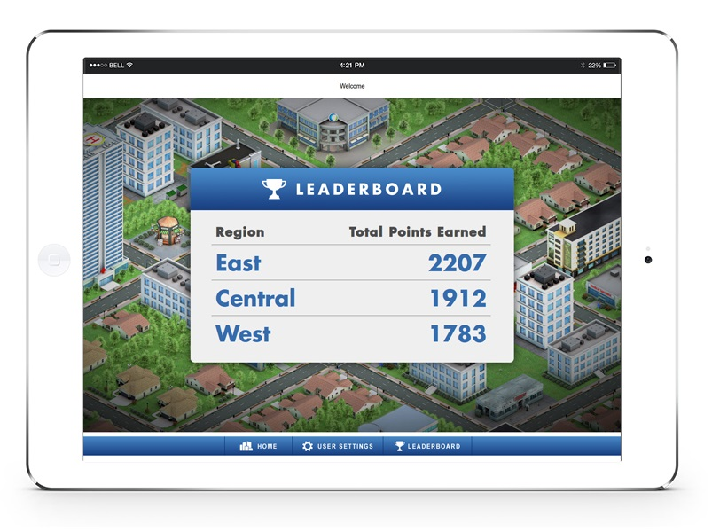 Conference app with Gamification