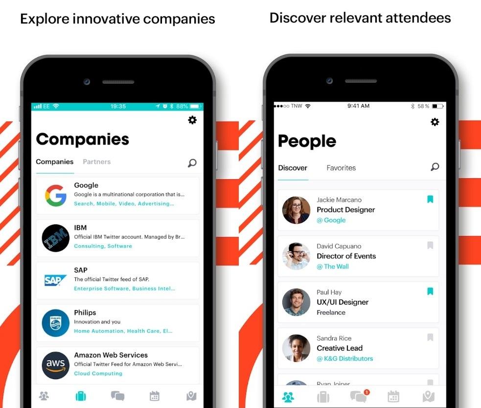 TNW app Companies