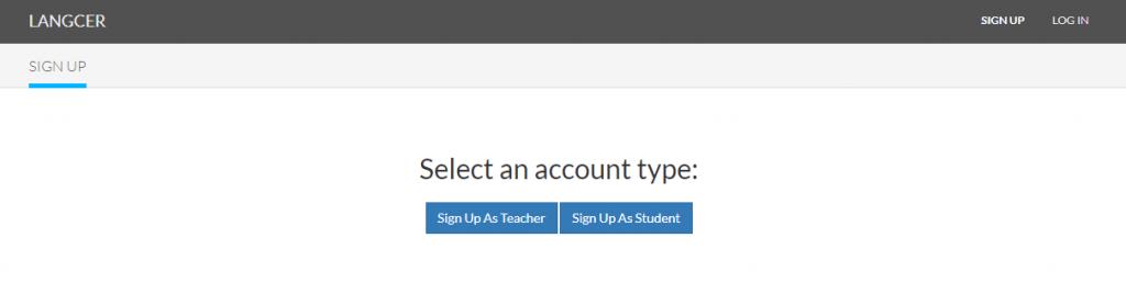 Teacher vs Student account