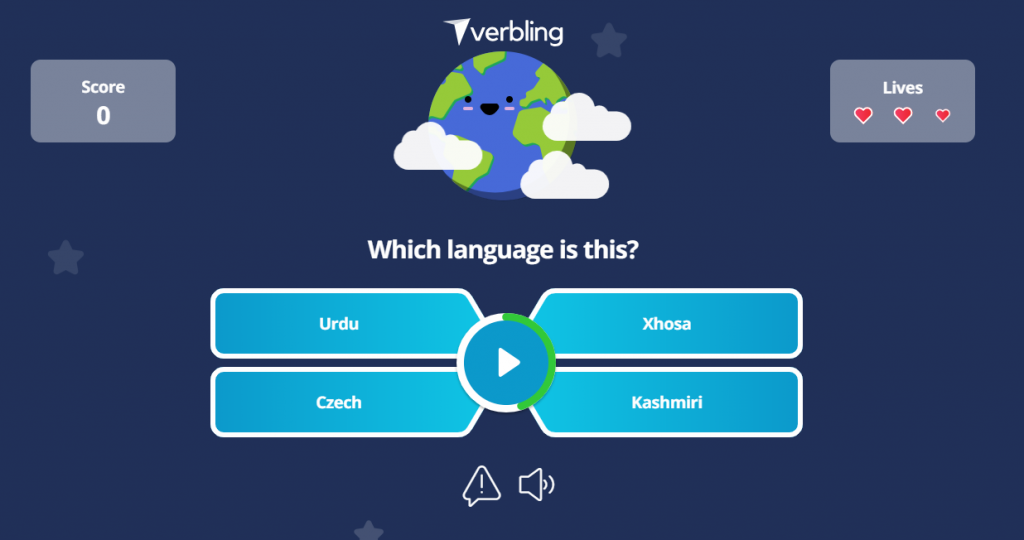 Gamification in language learning
