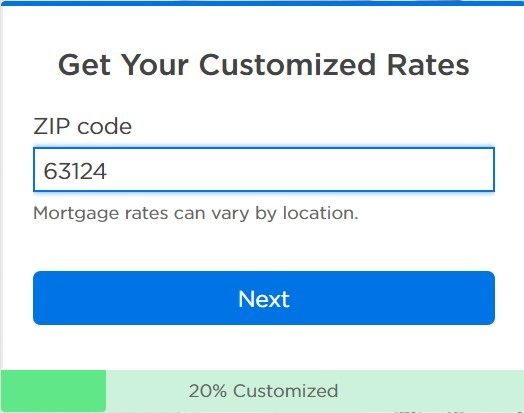 customized rates Zillow