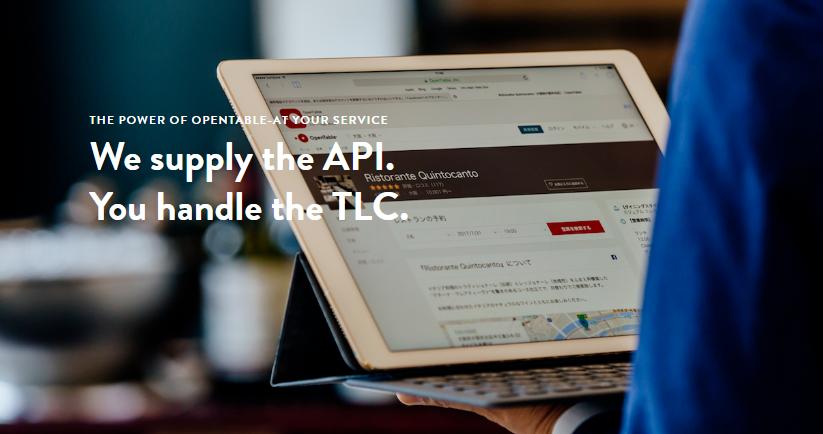 Opentable API