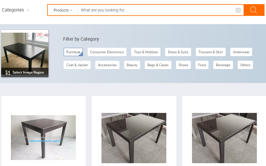 search by image Alibaba