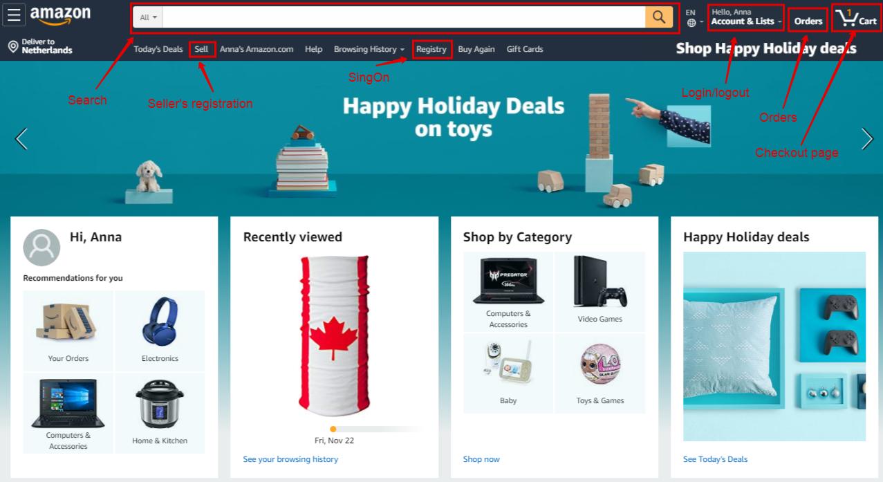 Amazon like marketplace