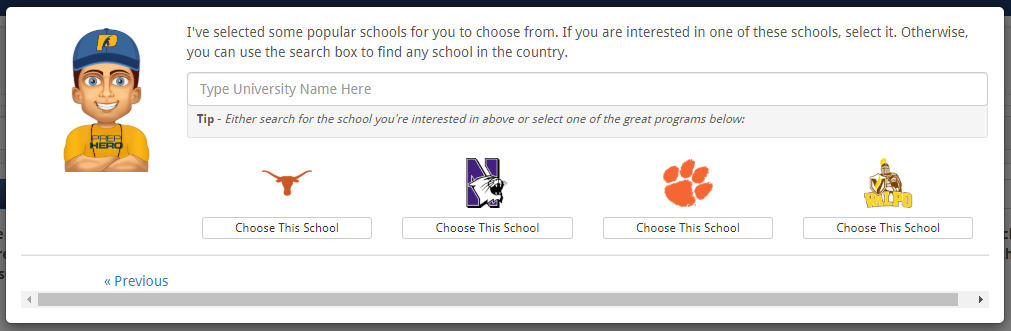 college recommenations