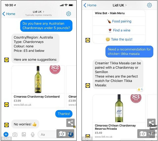 Lidl Margo chat