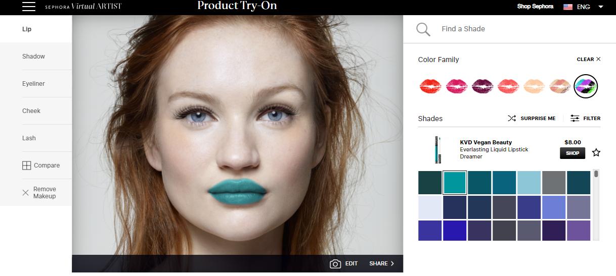 virtual make up