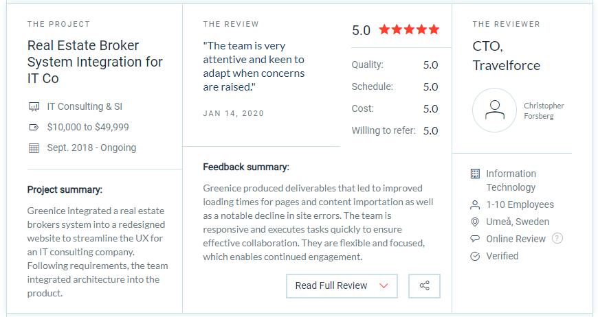 Greenice.net reviews