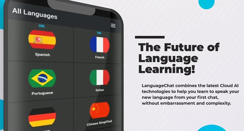 AI-based language learning