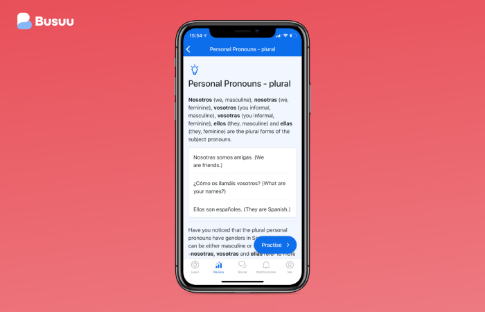 creating a language learning app