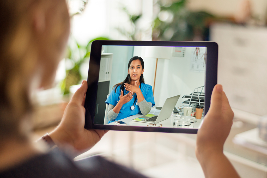 video consultation with doctor