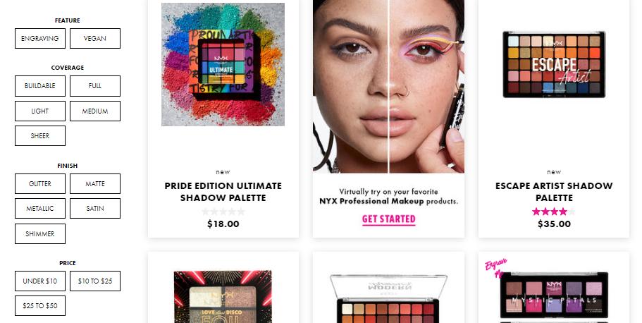 start an online makeup store
