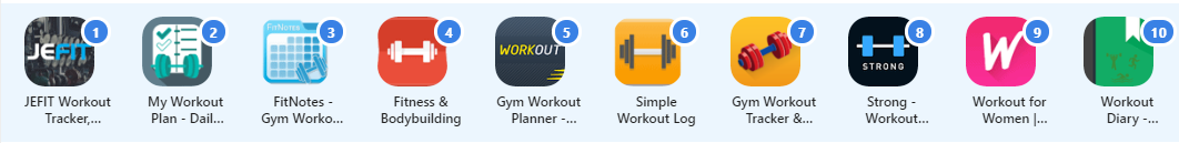 build your own workout app