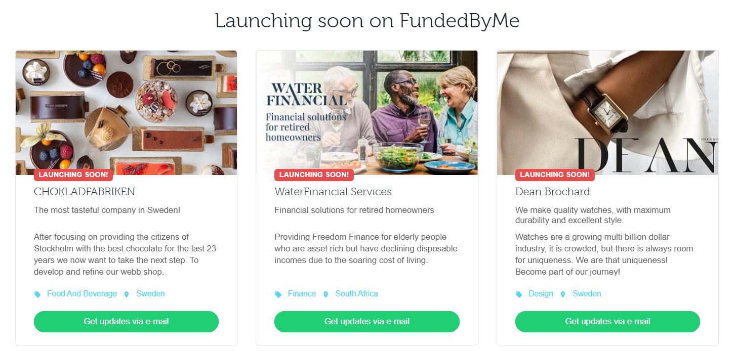 start a crowdfunding website