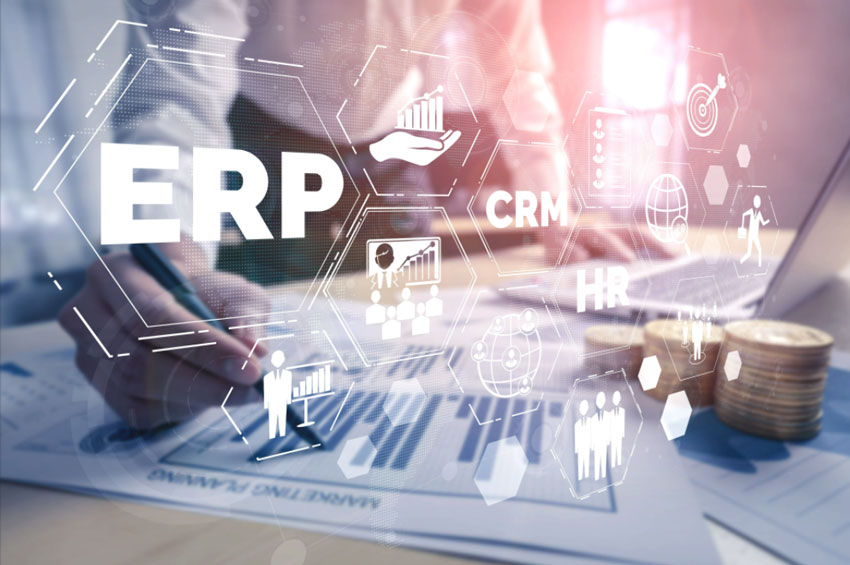 create custom ERP