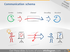 Communication schema icons ppt clipart