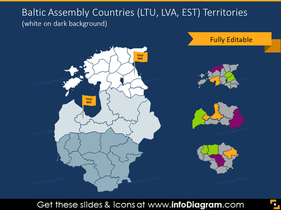 Baltic Assembly countries territories