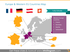 Europe and Western EU countries map