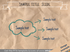crumpled paper powerpoint cloud split arrow slide