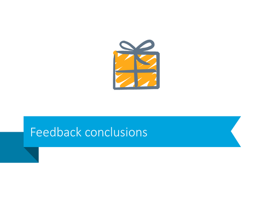 Feedback conclusion pptx transition slide