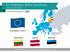 EU Statistics: Estonia Latvia Lithuania (Baltic Europe) economics
