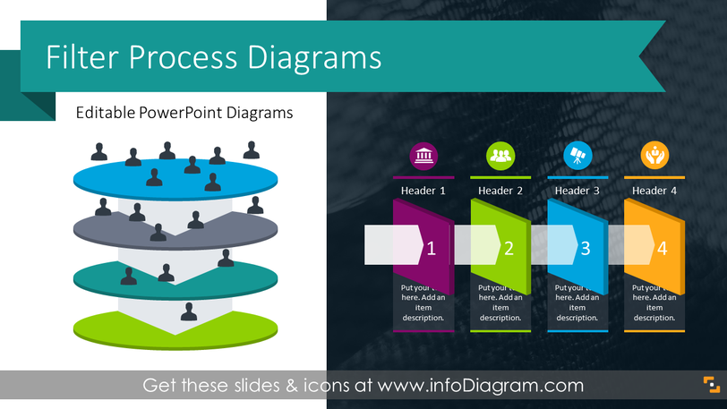 Filter Process Diagrams (PPT Template)
