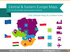 CEE Europe Maps with Administrative Territories (PPT editable)