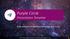 Purple Circle Presentation Template (PPTX slide deck)