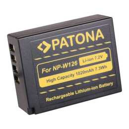 Batteria PATONA per Fujifilm NP-W126