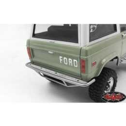 RC4WD Emblema Ford Emblem Nero Jack 1:18 Argento