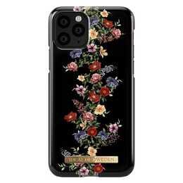 IDEAL OF SWEDEN Backcover Dark Floral (iPhone 11 Pro, Schwarz)