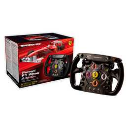 THRUSTMASTER Ferrari F1 Lenkrad Wheel (Add-On) (Schwarz)