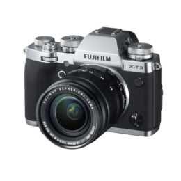 FUJIFILM X-T3 inkl. XF 18-55mm f/2.8-4 R LM OIS, Silver