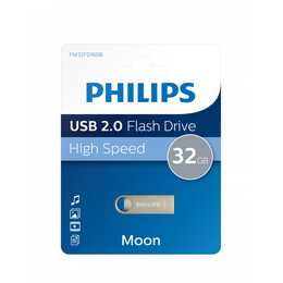 PHILIPS Flash Drive Moon Edition  (USB 2.0 Tipo-A, 32 GB)