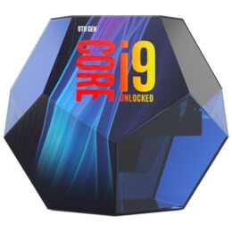 INTEL Core i9 9900K / 3.6 GHz