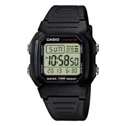 CASIO COLLECTION W-800H-1AVES (36 mm, Digitaluhr, Quarz)