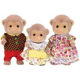 SYLVANIAN FAMILIES Monkey Family (3 pezzo)