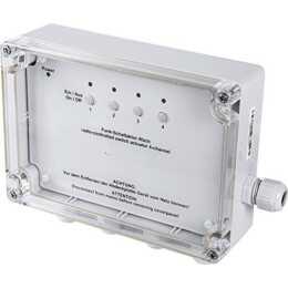 Attuatore di commutazione senza fili HOMEMATIC 4 volte, montaggio a parete