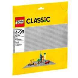 LEGO Classic plaque de base gris (10701)