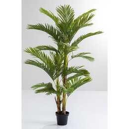 KARE Plante artificielle Palm Tree (Vert, Noir)