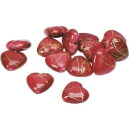 KNORR PRANDELL Streudeko 1,5 cm Herz, Rot, 24 Stück