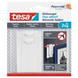 Clou adhésif TESA 2 kg pour papier peint + plâtre