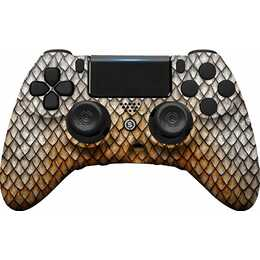 SCUF GAMING Impact - Gold Dragon Gamepad (Gold, Grau)
