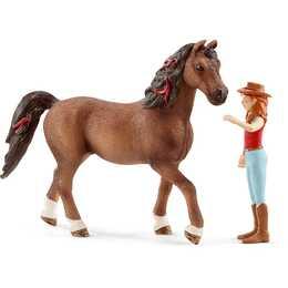 SCHLEICH Pferde Hannah & Cayenne