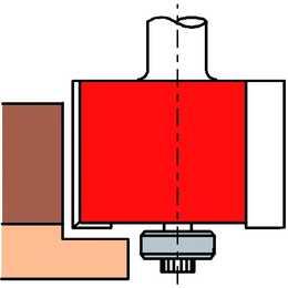 ALBIN KRAUS Beckenfräser (46 mm)